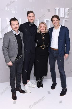 Leigh Whannell, Oliver Jackson-Cohen, Elisabeth Moss and Jason Blum attend a special screening of The Invisible Man. The Invisible Man releases in UK cinemas on 28th February.