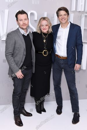 Leigh Whannell, Elisabeth Moss and Jason Blum attend a special screening of The Invisible Man. The Invisible Man releases in UK cinemas on 28th February.