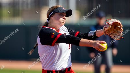 Editorial picture of Lamar Softball, College Station, USA - 15 Feb 2020