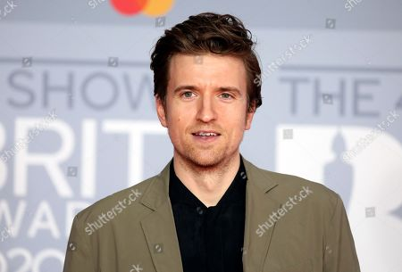Greg James poses for photographers upon arrival at Brit Awards 2020 in London