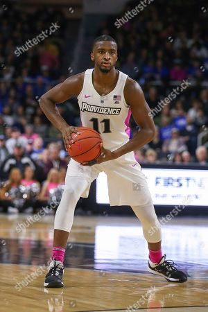 Providence's Black M (11) during the second half of an NCAA college basketball game against Seton Hall, in Providence, R.I