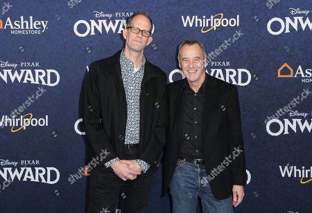 Stock Photo of Pete Docter and Jim Morris