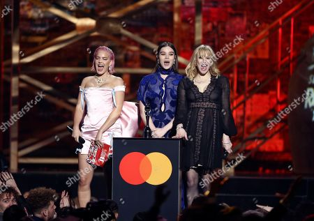 Editorial picture of Brit Awards 2020 Show, London, United Kingdom - 18 Feb 2020