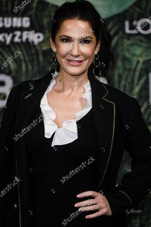 German actress Mariella Ahrens attends the PLACE TO B Pre-Berlinale Dinner at Restaurant Tim Raue in Berlin, Germany, 18 February 2020.