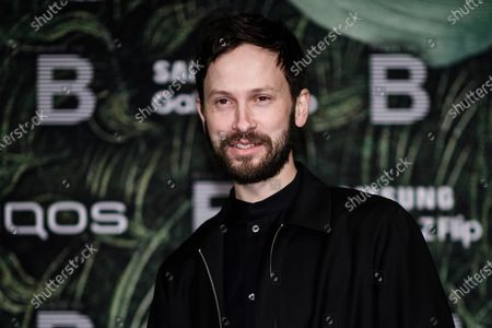 German actor Franz Dinda attends the PLACE TO B Pre-Berlinale Dinner at Restaurant Tim Raue in Berlin, Germany, 18 February 2020.