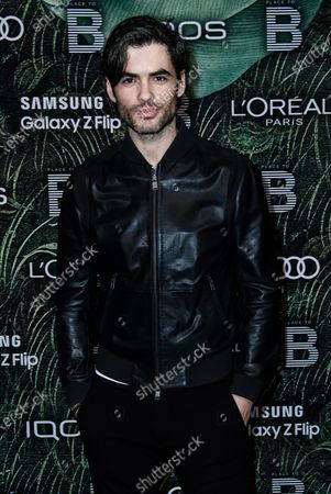 Albanian actor Nik Xhelilaj attends the PLACE TO B Pre-Berlinale Dinner at Restaurant Tim Raue in Berlin, Germany, 18 February 2020.