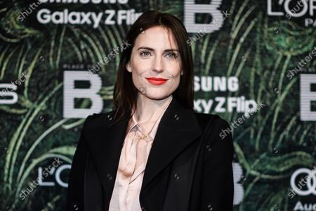 German actress Antje Traue attends the PLACE TO B Pre-Berlinale Dinner at Restaurant Tim Raue in Berlin, Germany, 18 February 2020.
