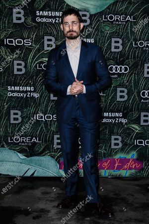 Stock Image of German actor Clemens Schick attends the PLACE TO B Pre-Berlinale Dinner at Restaurant Tim Raue in Berlin, Germany, 18 February 2020.