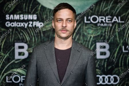 German actor Tom Wlaschiha attends the PLACE TO B Pre-Berlinale Dinner at Restaurant Tim Raue in Berlin, Germany, 18 February 2020.