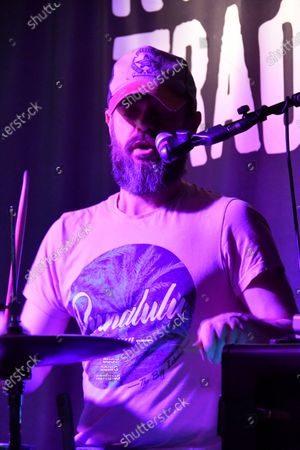 Editorial photo of Ash in concert at at Rough Trade East, London, UK - 18 Feb 2020