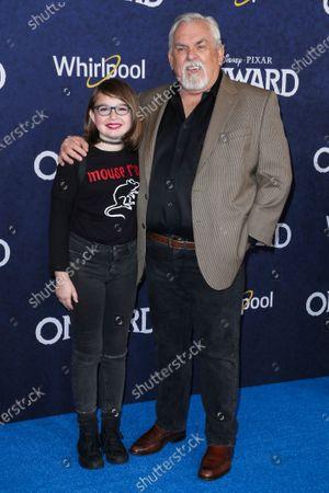 Editorial image of 'Onward' film premiere, Arrivals, El Capitan Theatre, Los Angeles, USA - 18 Feb 2020
