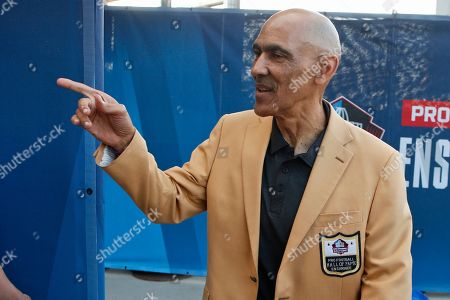 Former NFL player Tony Dungy is introduced before the induction ceremony at the Pro Football Hall of Fame in Canton, Ohio. Pro football is discovering that the spirit of the Rooney Rule is being violated. NFL Commissioner Roger Goodell made that a point of emphasis in his state of the league speech during Super Bowl week. So count on Goodell finding ways to more strongly implement the policy that requires teams to interview minority candidates for coaching and executive positions