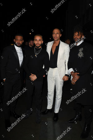 JLS - Jonathan Gill, Aston Merrygold, Marvin Humes and Oritse Williams
