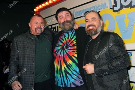 Kane Hodder, Mick Foley and Brian Quinn