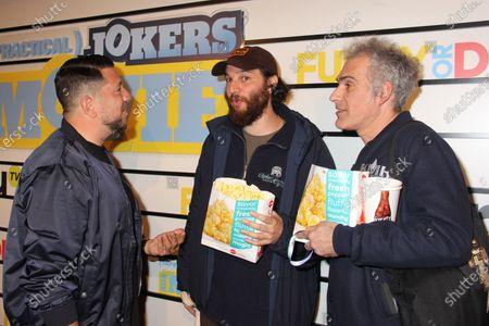 Stock Picture of Sal Vulcano, Joshua Safdie and Ronald Bronstein