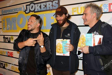 Stock Image of Sal Vulcano, Joshua Safdie and Ronald Bronstein
