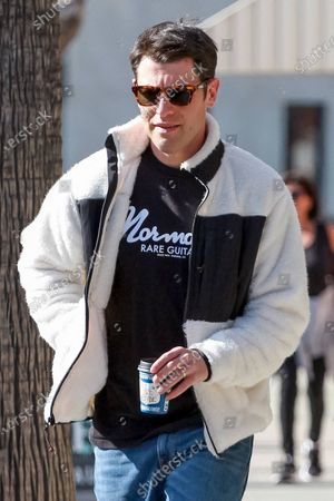 Editorial picture of Max Greenfield out and about, Los Angeles, USA - 18 Feb 2020