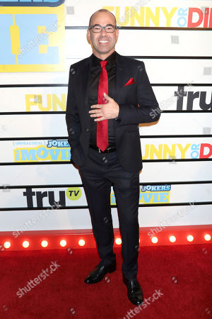 "James Murray attends the premiere of ""Impractical Jokers: The Movie"" at AMC Lincoln Square, in New York"