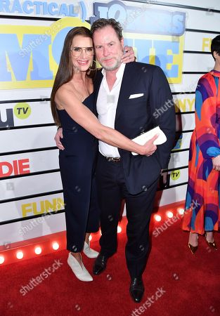 Stock Picture of Brooke Shields and Chris Henchy