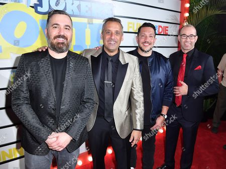 Brian Quinn, Joe Gatto, Sal Vulcano, and James Murray