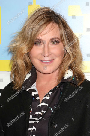 """Sonja Morgan attends the premiere of """"Impractical Jokers: The Movie"""" at AMC Lincoln Square, in New York"""