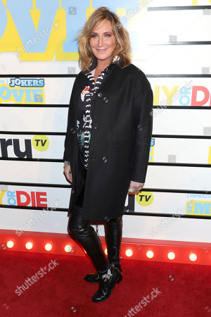 """Stock Photo of Sonja Morgan attends the premiere of """"Impractical Jokers: The Movie"""" at AMC Lincoln Square, in New York"""