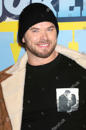 "Kellan Lutz attends the premiere of ""Impractical Jokers: The Movie"" at AMC Lincoln Square, in New York"