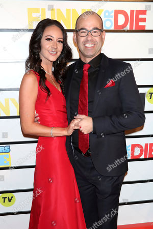 "Melyssa Davies, James Murray. Melyssa Davies and James Murray attend the premiere of ""Impractical Jokers: The Movie"" at AMC Lincoln Square, in New York"