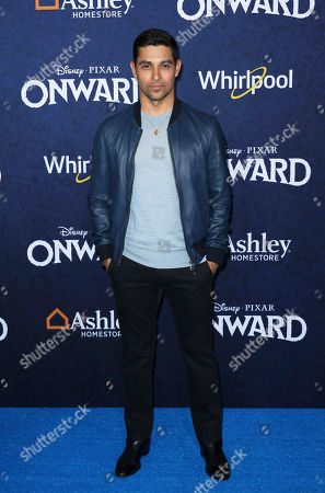 """Wilmer Valderrama arrives at the World Premiere of """"Onward"""" at El Capitan Theatre, in Los Angeles"""
