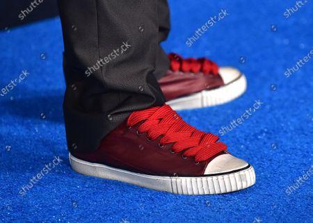 Mel Rodriguez, shoe detail