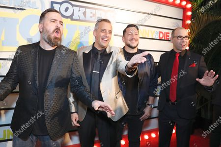 Brian Quinn, Joe Gatto, Sal Vulcano, James Murray