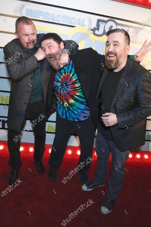 Kane Hodder, Mick Foley, and Brian Quinn