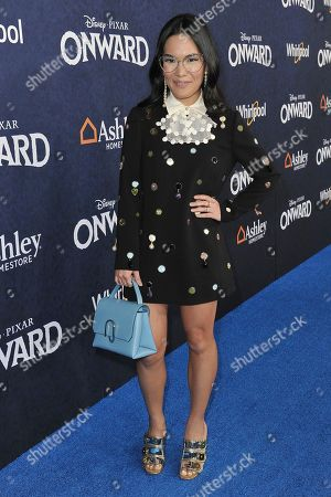 """Stock Photo of Ali Wong attends the world premiere of """"Onward"""" at the El Capitan Theatre, in Los Angeles"""