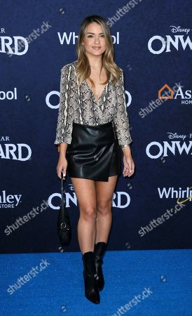"""Vale Genta arrives at the World Premiere of """"Onward"""" at El Capitan Theatre, in Los Angeles"""