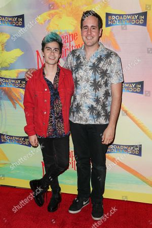Sam Tsui and Casey Breves