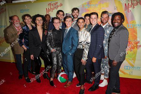 'Escape to Margaritaville' cast