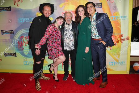 Jimmy Buffett and guests