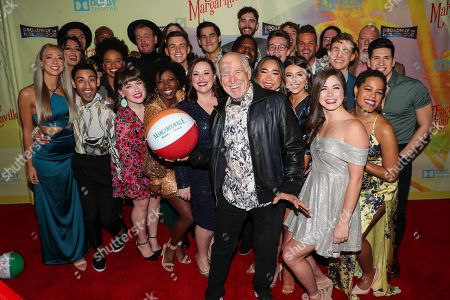 Jimmy Buffett and 'Escape to Margaritaville' cast