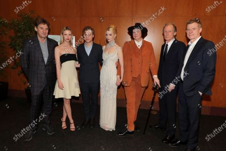 Tim Bevan, Producer, Mia Goth, Johnny Flynn, Anya Taylor-Joy, Autumn de Wilde, Director, Bill Nighy, Graham Broadbent, Producer,