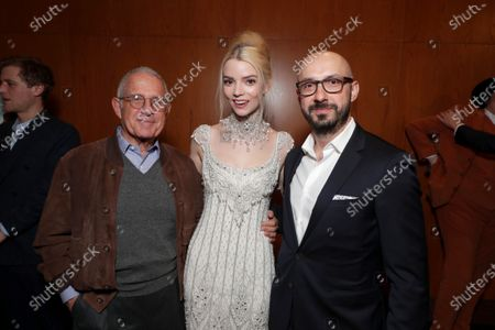 Ron Meyer, Vice Chairman of NBCUniversal, Anya Taylor-Joy, Peter Kujawski, Chairman of Focus Features,