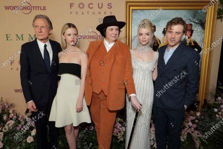 Bill Nighy, Mia Goth, Autumn de Wilde, Director, Anya Taylor-Joy, Johnny Flynn