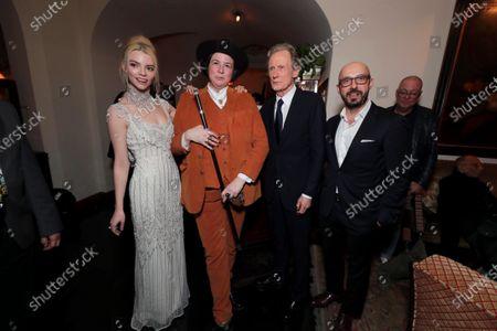 Anya Taylor-Joy, Autumn de Wilde, Director, Bill Nighy, Peter Kujawski, Chairman of Focus Features,