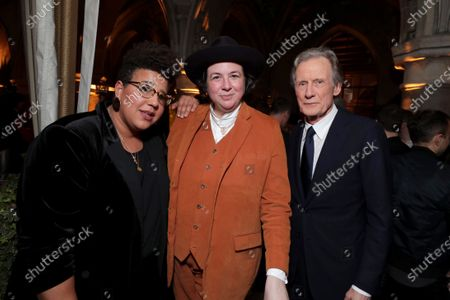 Stock Image of Brittany Howard, Autumn de Wilde, Director, Bill Nighy