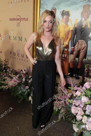 Editorial image of Focus Features EMMA premiere, Los Angeles, CA, USA - 18 Feb 2020
