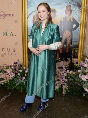 Editorial picture of 'Emma' film premiere, Arrivals, DGA Theater, Los Angeles, USA - 18 Feb 2020