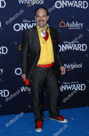 """Mel Rodriguez arrives at the World Premiere of """"Onward"""" at El Capitan Theatre, in Los Angeles"""