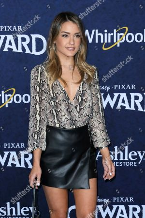 """Stock Photo of Vale Genta arrives at the World Premiere of """"Onward"""" at El Capitan Theatre, in Los Angeles"""