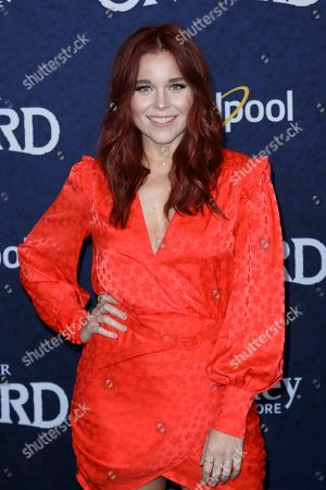 """Stock Picture of Erin Robinson arrives at the World Premiere of """"Onward"""" at El Capitan Theatre, in Los Angeles"""