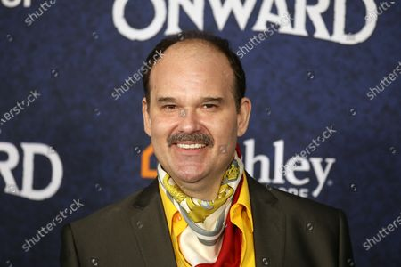 Stock Picture of Mel Rodriguez arrives at the premiere of the Disney Pixar movie Onward at El Capitan Theatre in Los Angeles, California, USA, 18 February 2020.