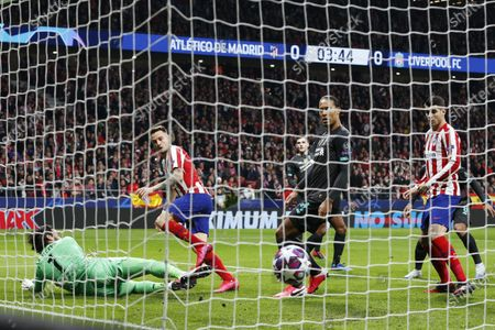 Editorial picture of Atletico Madrid v Liverpool, UEFA Champions League, Round of 16, 1st Leg, Football, Wanda Metropolitano stadium, Madrid, Spain - 18 Feb 2020